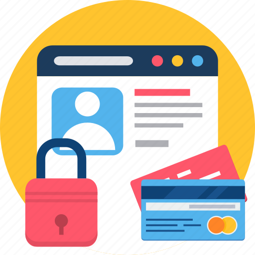 card, page, password, security, web, webpage icon