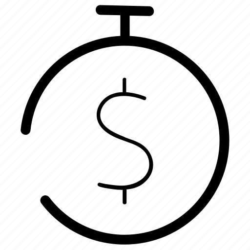 budget, deposit, money, return on investments, timer icon