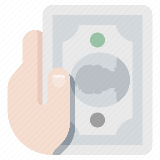 cash, hand, payment icon