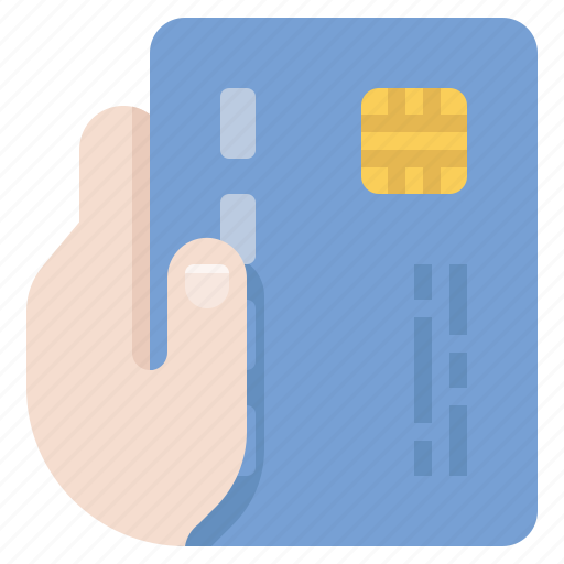 buy, credit card, hand, payment icon
