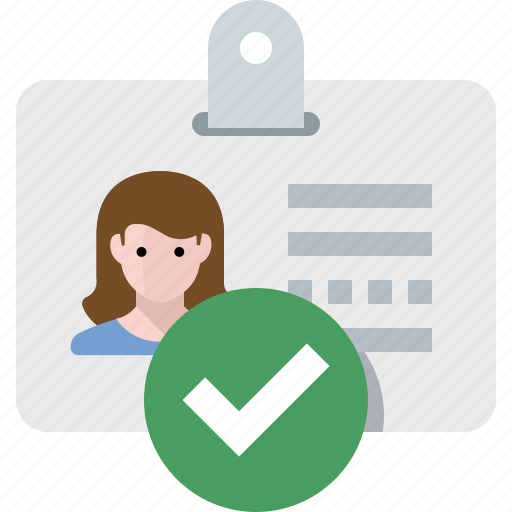 Approved, identity, verified icon - Download on Iconfinder