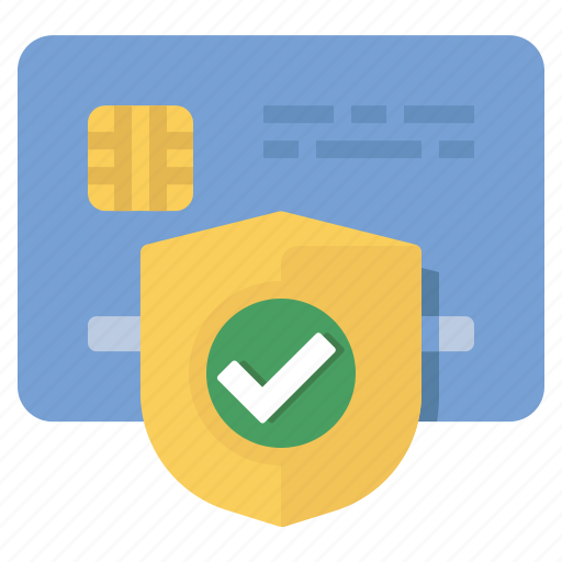 approved, credit card, verified icon