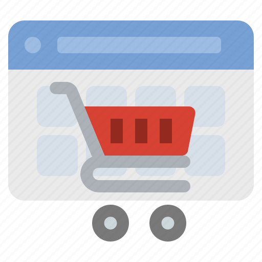 cart, ecommerce, online, shopping icon