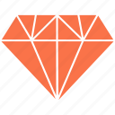 diamond, miscellaneous, rich, richness icon