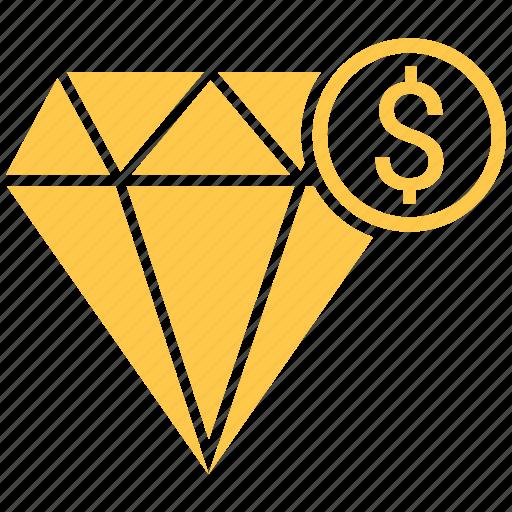 best, diamond, dollar, premium, quality icon