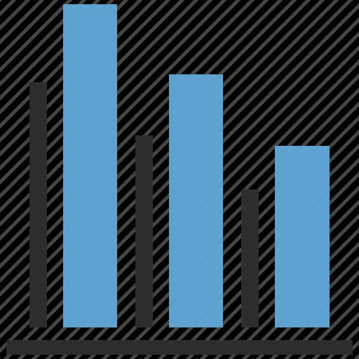 bar, graph, growth, growth bar, infographic icon