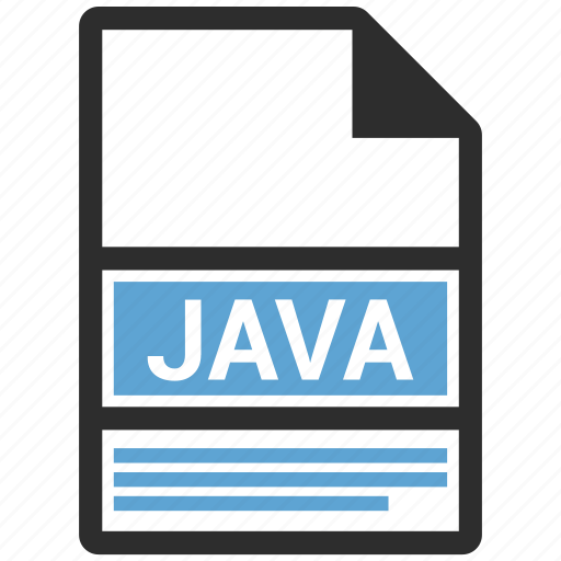 extensiom, file, file format, java icon