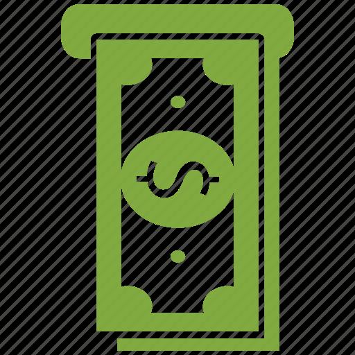 atm, dollar, money icon