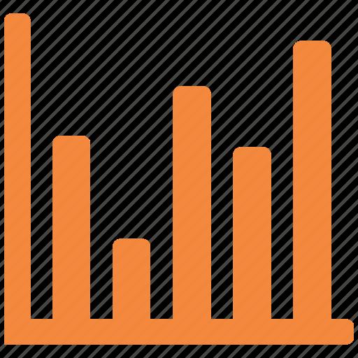 bar chart, bar graph, financial chart, graphic icon