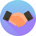 agreement, business, deal, finance, handshake, partnership icon icon