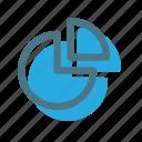 business, chart, circle, circle chart, graph icon icon