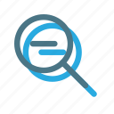 magnifier, search, zoom icon icon