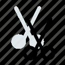 blade, cut, office, paste, scissors, sharp, supply icon icon