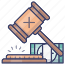 auction, bid, bidding, transaction icon