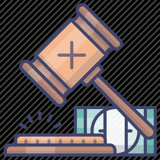 auction, bid, bidding, transaction icon