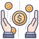 earn, earning, income, profit icon