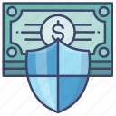 asset, money, protection, safe icon