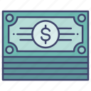 cash, finance, fortune, money icon