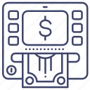 atm, cash, money, withdraw icon