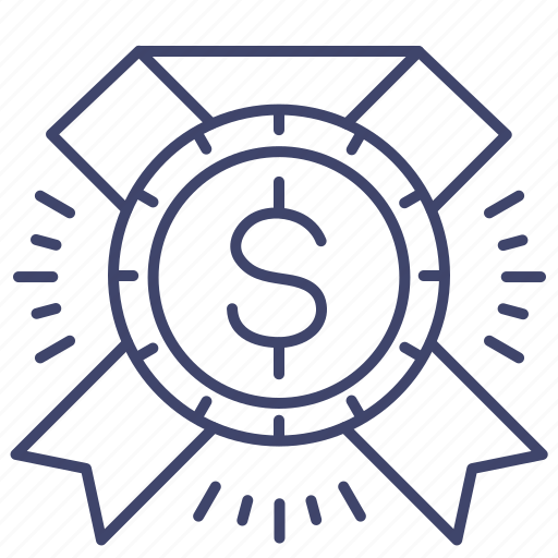 capital, certificate, finance, fund icon