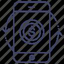 mobile, money, smartphone, transfer