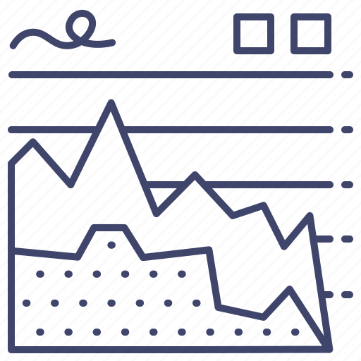 business, chart, graph, report icon