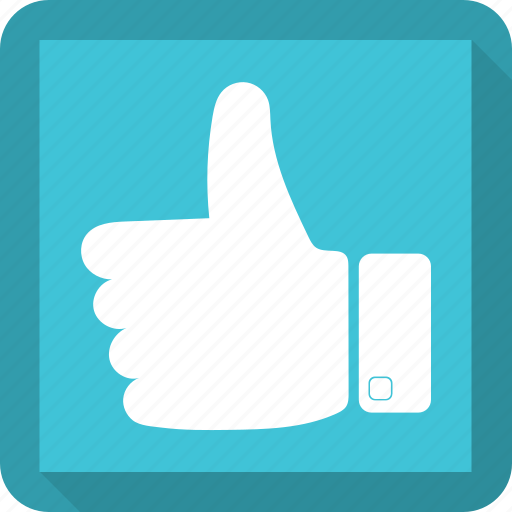 like, thumbs up, vote icon