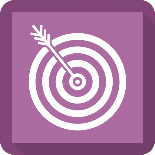 focus, marketing, strategy, target icon