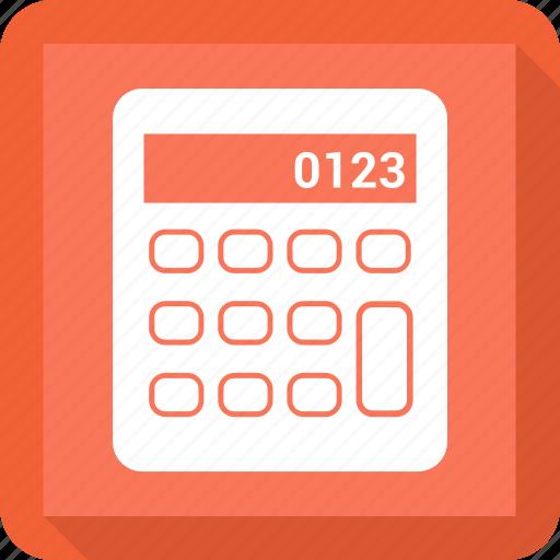 calculator, education, math, school icon