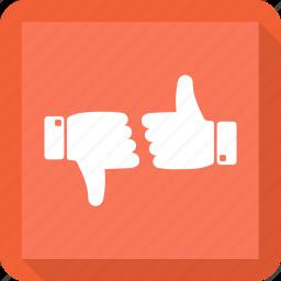 dislike, like, thumbs up, vote icon