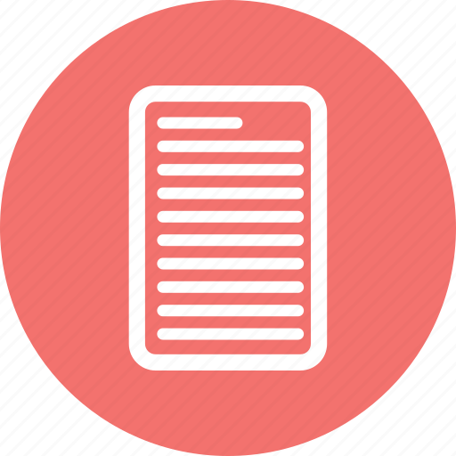 Document, note, paper, sheet icon - Download on Iconfinder