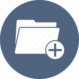 busy, document, folder, open, pluse icon