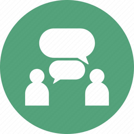 chat, company, group, team, users icon