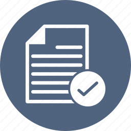 blank, check, document, file, page icon