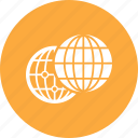 globe, internet, web, world icon