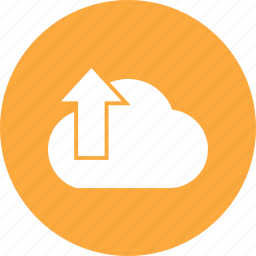 cloud, export, up, upload icon
