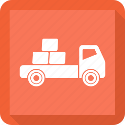 caravan, delivery, delivery truck, truck, van icon