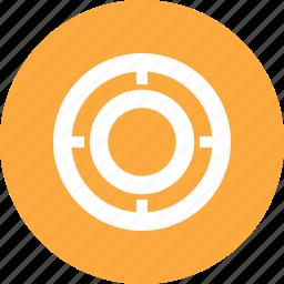focus, target icon