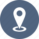arrow, direction, location, map icon