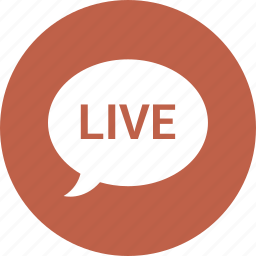 chat, dialog, forum, live, speaking icon