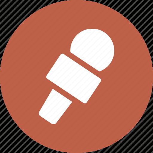mic, microphone, music, sound icon