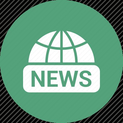 global, news, planet, web, world icon