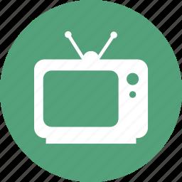 entertainment, retro, television, tv icon