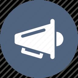 attention, news, speaker, statement icon