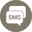 messages, sms, text icon