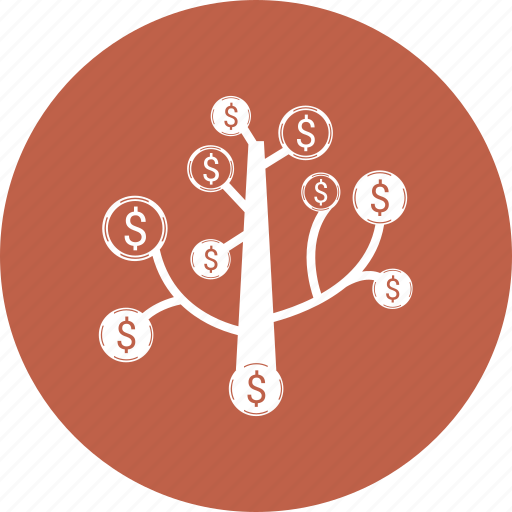 money, tree icon