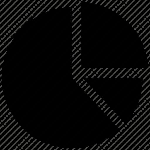 analytics, chart, pie chart icon