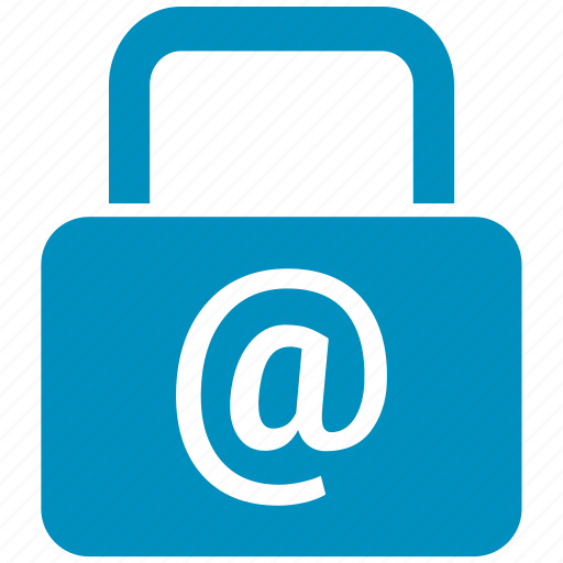at the rate, lock, protected, safe, security icon