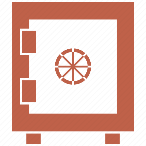 locker, money, safe, vault icon