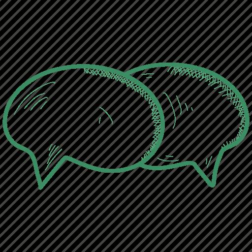 bubble, chat, speech icon